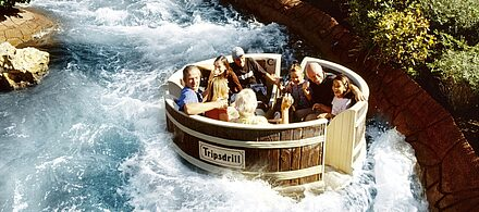 Attraktion Waschzuber-Rafting