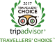 Tripadvisor - Travelers Choice 2015